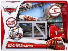 Disney / Pixar CARS Movie 1:55 Car Lift & Launch Mack Transporter