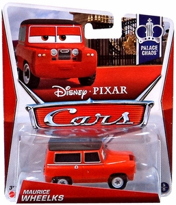 Disney / Pixar CARS MAINLINE 1:55 Die Cast Car Maurice Wheelks [Palace Chaos 5/9]