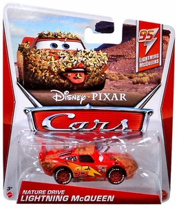 Disney / Pixar CARS Movie 1:55 Die Cast Car Nature Drive McQueen [95 Lightning McQueens 5/5]