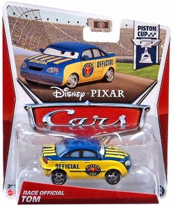 Disney / Pixar Cars 1:55 Die Cast Car Race Official Tom [Piston Cup 18/18]