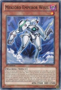 YuGiOh Star Pack 2013 Single Card SP13-EN047 Meklord Emperor Wisel