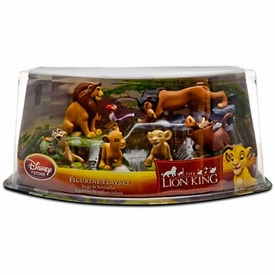 Disney The Lion King Exclusive 6 Piece Deluxe PVC Figurine Playset