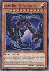 YuGiOh Star Pack 2013 Single Card SP13-EN044 Arcana Force EX - The Light Ruler