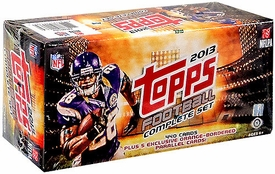2013 NFL Topps Football Cards Complete HOBBY Factory Sealed Set