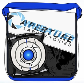 Portal 2 Messenger Bag Wheatley