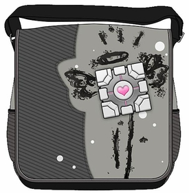 Portal 2 Messenger Bag Companion Cube