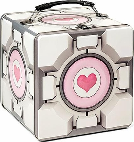 Portal 2 Tin Lunchbox Companion Cube