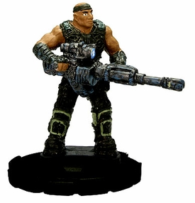 Gears of War Heroclix Single Figure #003 Augustus Cole