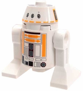 LEGO Star Wars LOOSE Mini Figure R5-F7 [White & Orange Dome]