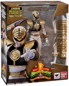 Mighty Morphin Power Rangers S.H. Figuarts Action Figure White Ranger