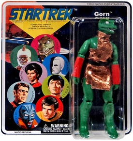Diamond Select Star Trek Original Series Series 7 Cloth Retro Action Figure Gorn