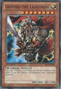 YuGiOh Star Pack 2013 Single Card SP13-EN040 Gilford the Lightning