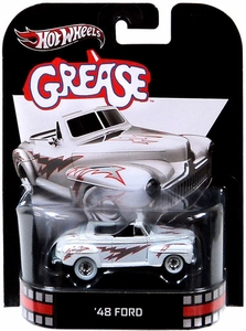 Hot Wheels Retro Grease 1:55 Die Cast Car '48 Ford