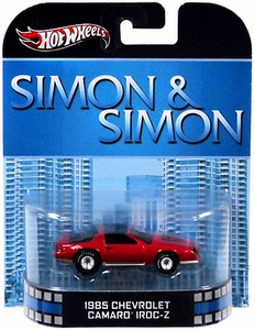 Hot Wheels Retro Simon & Simon 1:55 Die Cast Car 1985 Chevrolet Camaro IROC-Z