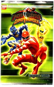 Power Rangers Dino Thunder Series 1 Trading Cards Pack [7 Cards]