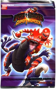 Power Rangers Dino Thunder Series 2 Trading Cards Pack [7 Cards]