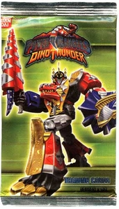 Power Rangers Dino Thunder Series 3 Trading Cards Pack [7 Cards]