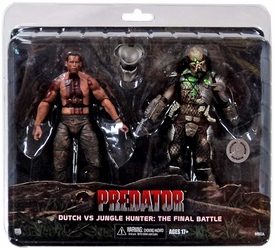 NECA Predator Exclusive Action Figure 2-Pack Predator vs Dutch