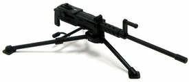 GI Joe 3 3/4 Inch LOOSE Action Figure Accessory Black M2 Browning Machine Gun & Tripod