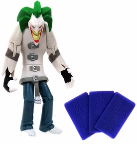 The Batman Shadow Tek LOOSE Action Figure Joker [Card Attack]