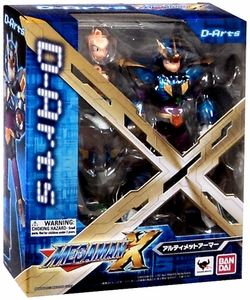 Mega Man X D-Arts Action Figure Ultimate Armor X Mega Man