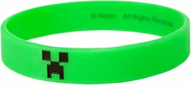 Minecraft Rubber Bracelet Green Creeper