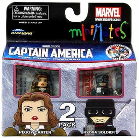 Marvel MiniMates Series 40 Figure 2-Pack Peggy Carter & Hydra Soldier