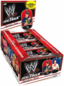 WWE Wrestling Topps 2013 Signature Series Dog Tag Box [24 Packs]