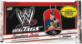 WWE Wrestling Topps 2013 Signature Series Dog Tag Pack [1 Tag] Hot!