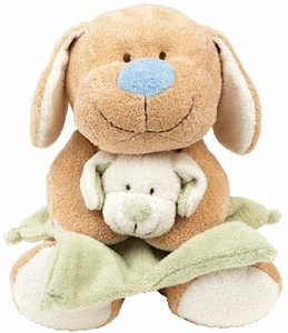 Ty Baby Soft Plush Snugglepup