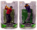 Upper Deck Pro Shots Set of Both Series 2 Tiger Woods Action Figures