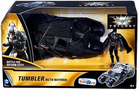 Batman Dark Knight Trilogy Exclusive Battle For Gotham City Action Figure & Vehicle Tumbler wtih Batman