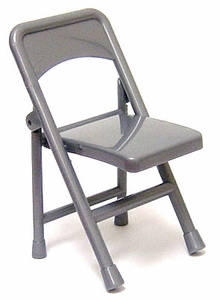 WWE Wrestling Loose Action Figure Accessory Silver Folding Chair