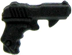 GI Joe 3 3/4 Inch LOOSE Action Figure Accessory Black Pistol [Style 3]