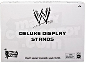 Mattel WWE Wrestling 4 Deluxe Figure Display Stands BLOWOUT SALE!