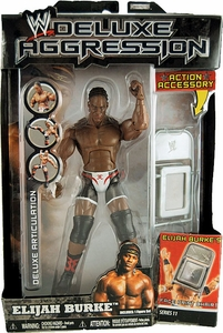 WWE Wrestling DELUXE Aggression Series 11 Action Figure Elijah Burke