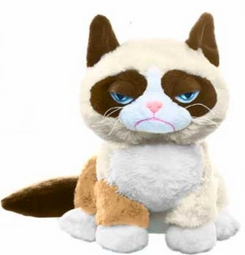 Grumpy Cat Ganz 8 Inch Plush Grumpy Cat [Sitting Up!] Pre-Order ships July