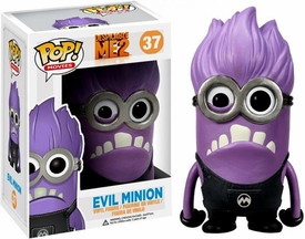 Funko POP! Despicable Me 2 Vinyl Figure Evil Minion New!