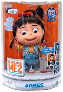 Despicable Me 2 Exclusive DELUXE 11 Inch Talking Interactive Figure Agnes