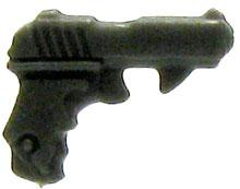 GI Joe 3 3/4 Inch LOOSE Action Figure Accessory Dark Gray Pistol [Style 3]