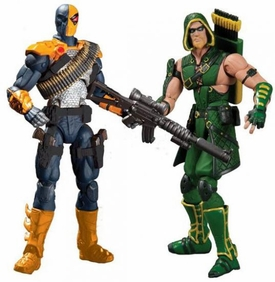 DC Injustice: Gods Among Us 3.75 Inch Action Figure 2-Pack Deathstroke & Green Arrow