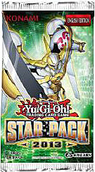 YuGiOh Star Pack 2013 LIMITED EDITION Booster Pack