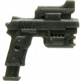 GI Joe 3 3/4 Inch LOOSE Action Figure Accessory Gunmetal Customized M1911