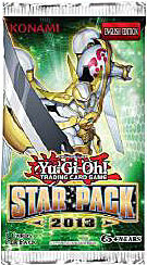 YuGiOh Star Pack 2013 UNLIMITED EDITION Booster Pack