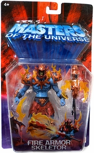 He-Man Masters of the Universe Action Figure Fire Armor Skeletor