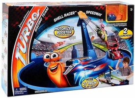 Turbo Movie Ultimate Track Set Shell Racer Speedway