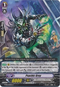 Cardfight Vanguard ENGLISH Blue Storm Armada Single Card Common BT08-050 Psychic Grey