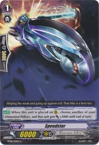 Cardfight Vanguard ENGLISH Blue Storm Armada Single Card Common BT08-051 Speedster