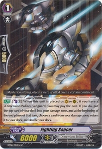 Cardfight Vanguard ENGLISH Blue Storm Armada Single Card Common BT08-052 Fighting Saucer