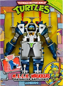 Teenage Mutant Ninja Turtles 2013 Retro Collection MECH Wrekkers Leonardo